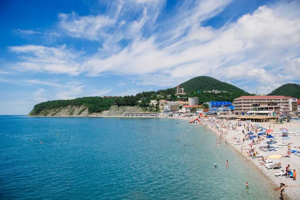Фото пляжей и описание краснодарского края