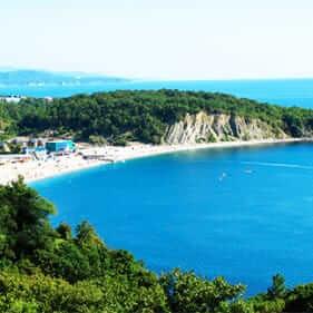 черное море в ольгинке